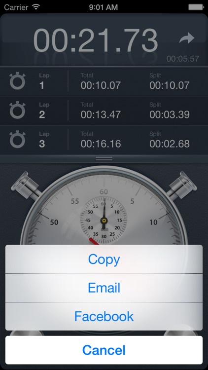 Stopwatch+ for Track & Field screenshot-2