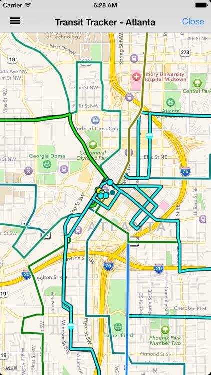 Transit Tracker - Atlanta