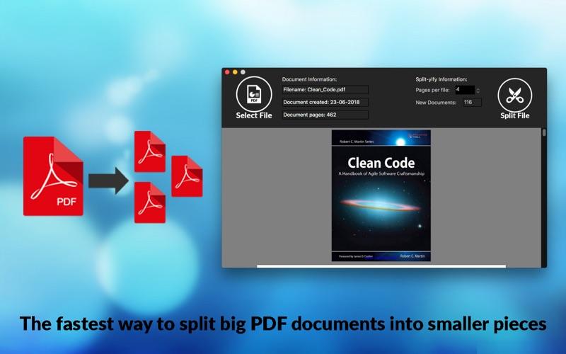 PDF Split -yify - Split PDF for Mac