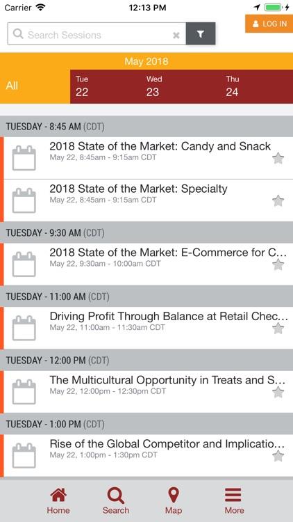 2018 Sweets & Snacks Expo App screenshot-4