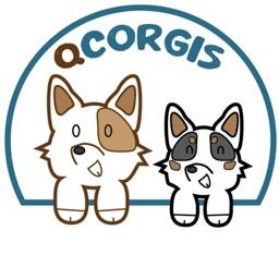 The Cutest Corgi Stickers