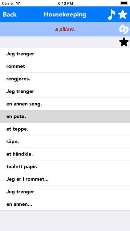 English to Norwegian Translate screenshot-3