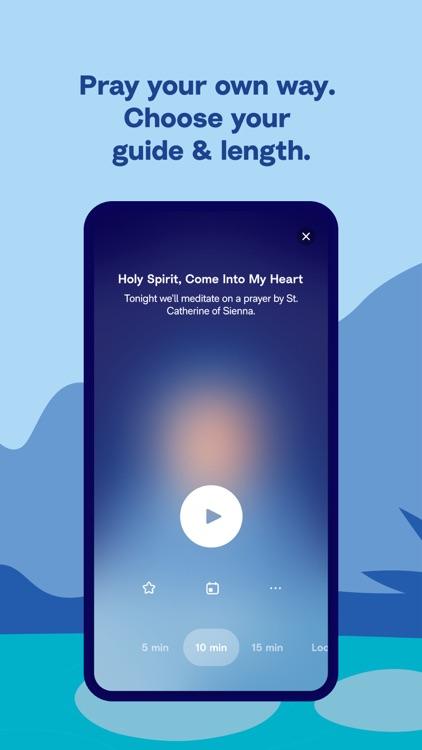 Hallow: Catholic Meditation screenshot-9