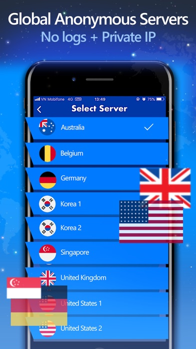 X Snap VPN: Secure quick VPN