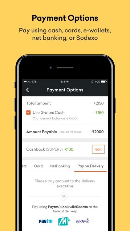 Grofers - Online Grocery screenshot-4