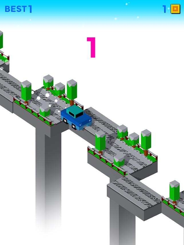 Car Road Cross Screenshot