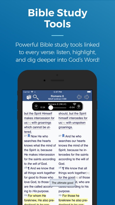 Blue Letter Bible App Reviews   User Reviews of Blue Letter Bible