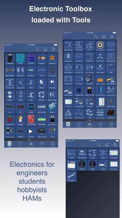 Electronic Toolbox Pro IPA Cracked for iOS Free Download