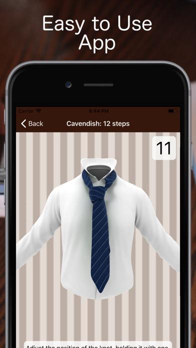 Tie a Necktie 3D Animatedのおすすめ画像5