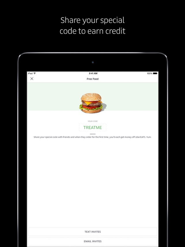 Uber Eats のお料理配達 Screenshot