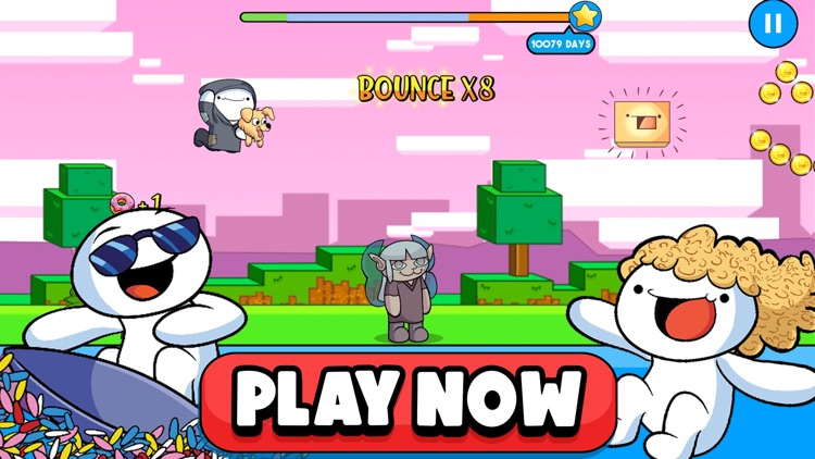 TheOdd1sOut: Let's Bounce screenshot-5