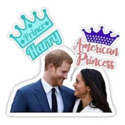 Royal Wedding 2018 Sticker