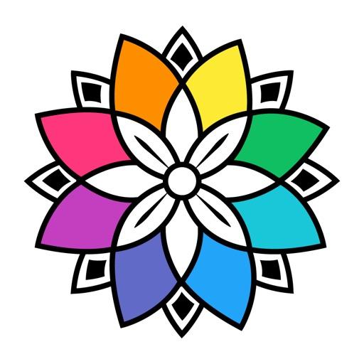 Colorgram:適合成人的藝術療法抒壓著色書