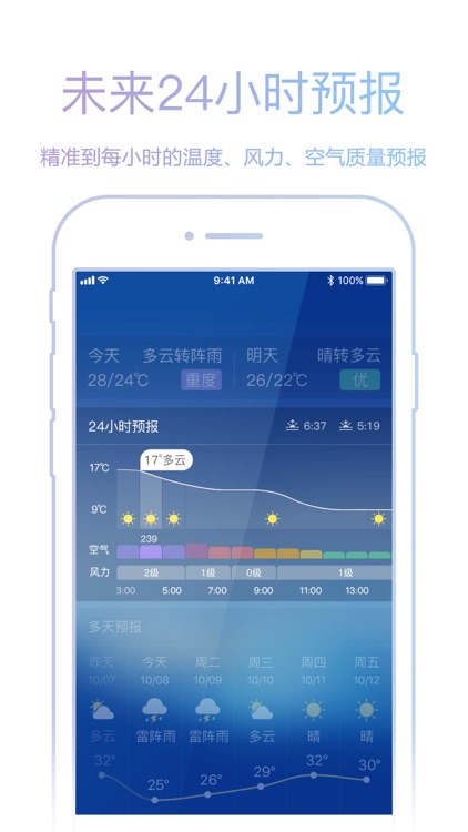 天气预报-天气预报苹果版 screenshot-4