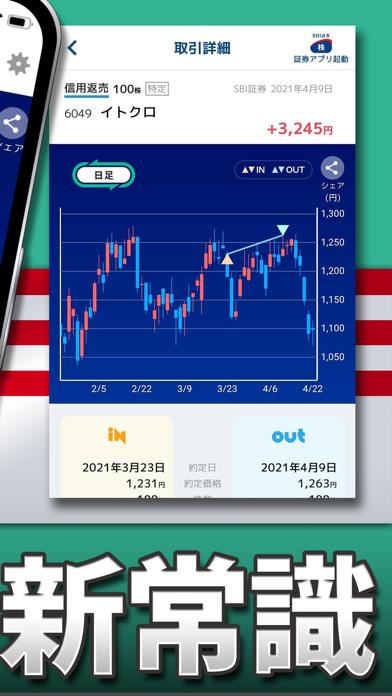 カビュウ - 株式投資管理・分析アプリ ScreenShot2