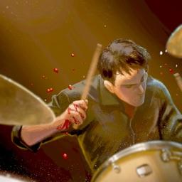 DrumKnee Drums 3D - Drum set