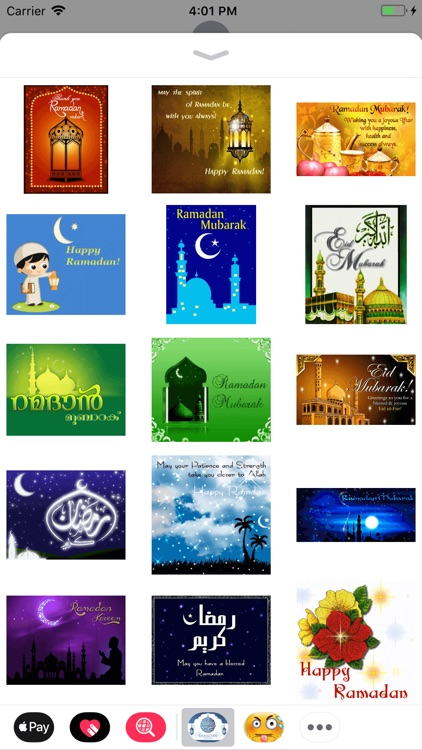 Ramadan Wishes Stickers screenshot-4