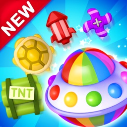 Toy Party: Match 3 Hexa Blast!