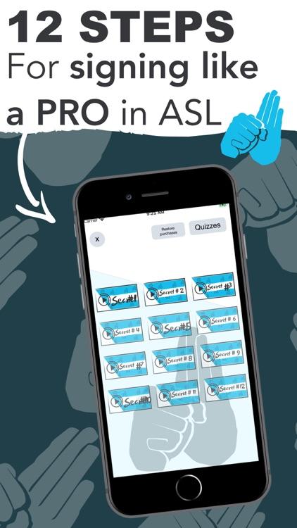 ASL American Sign Language App screenshot-3