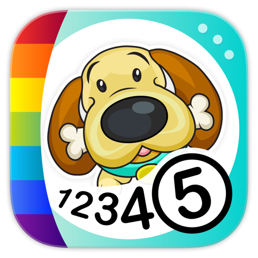 Color by Numbers - Dogs For Mac
