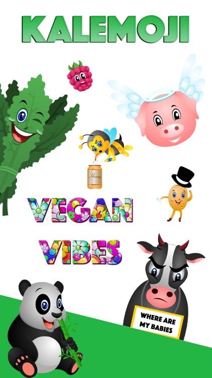 KaleMoji - Vegan Emojis screenshot-4