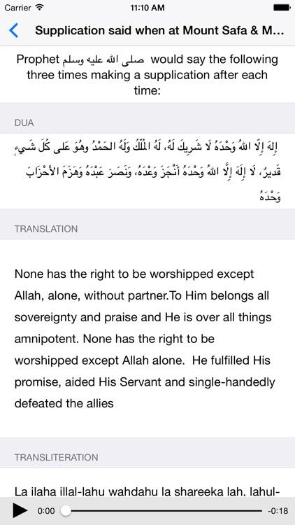 Hajj Umrah Duas screenshot-4