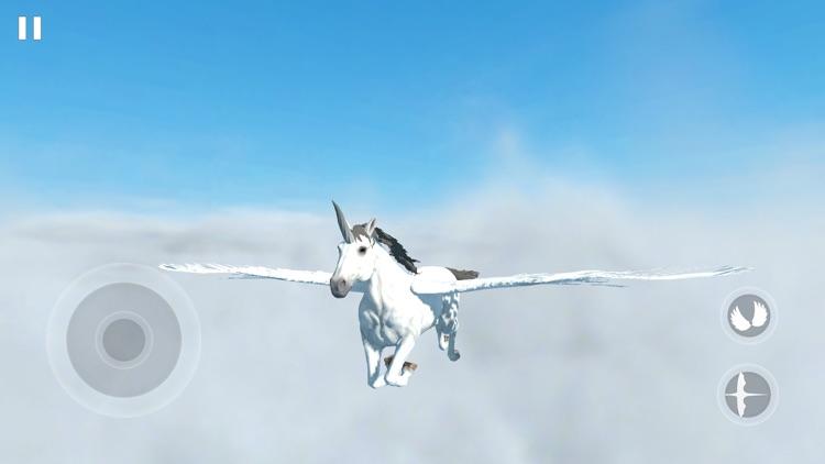 Flying Unicorn Simulator 2021 screenshot-0