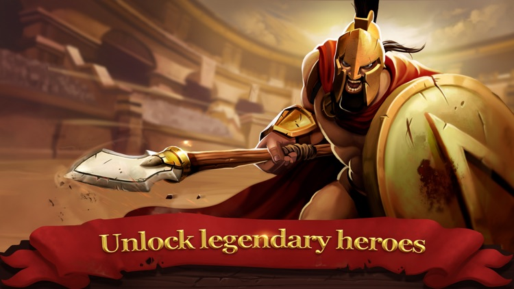 Gladiator Heroes - Valor Fight screenshot-3