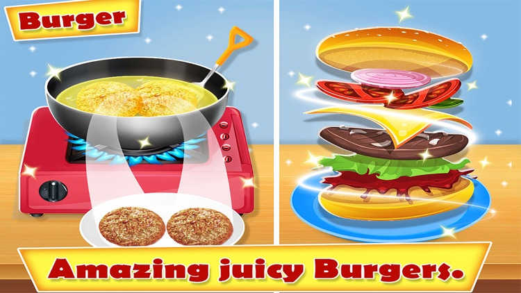 Yummy Fast Food Cooking