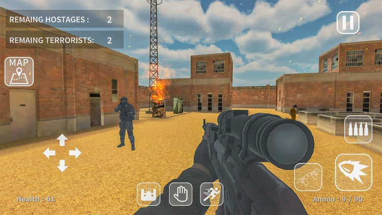 Counter Combat: Hostage Rescue screenshot-6