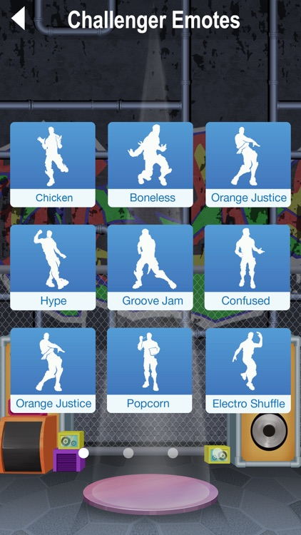 Dances for Fortnite Emotes