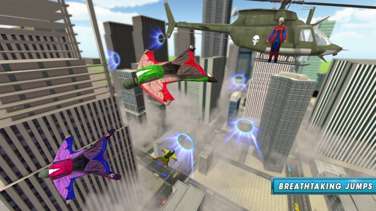 Skyman Stunt Hero 3d screenshot-1