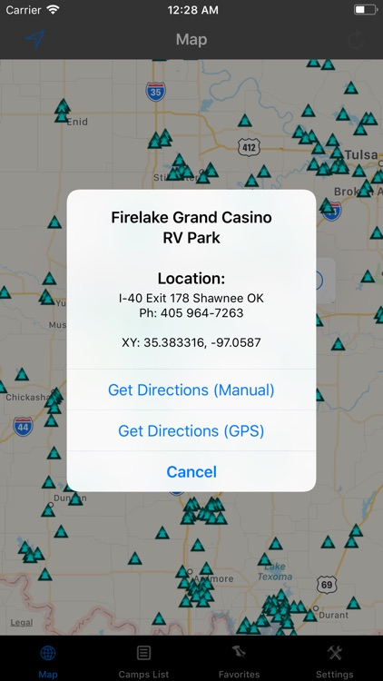 Oklahoma – Camping & RV spots screenshot-1