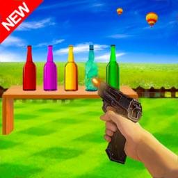 Bottle Shoot: Real Gun Shooter