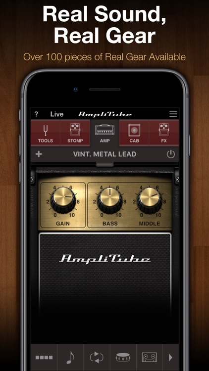 AmpliTube CS screenshot-0