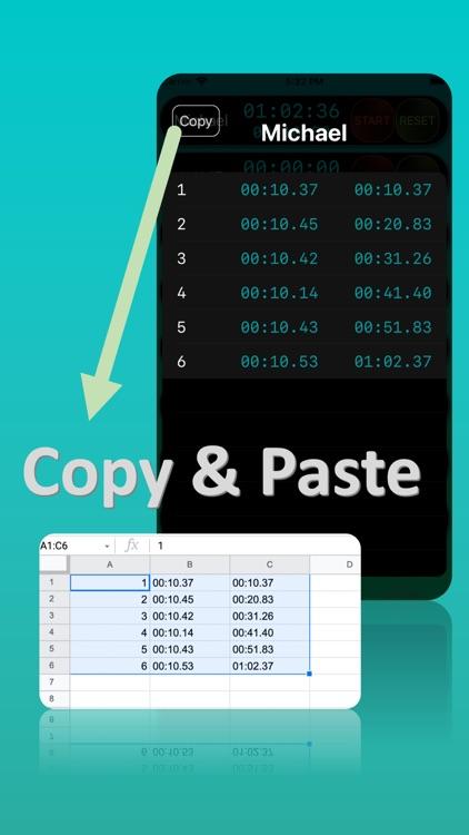 Multi-Timer; Stopwatch & Timer screenshot-3
