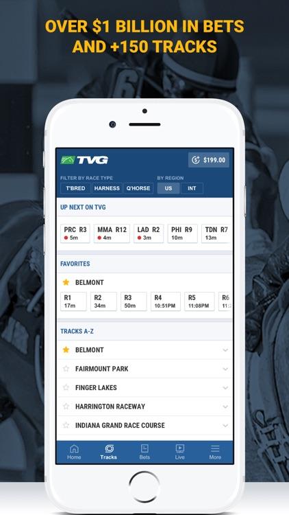TVG - Horse Racing Betting App screenshot-3