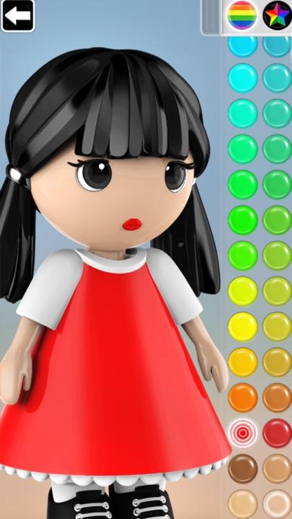 ColorMinis Kids -3D Color Book