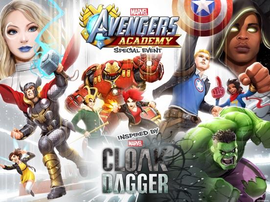 MARVEL Avengers Academy на iPad