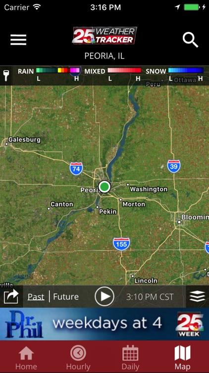 WEEK 25 Weather Tracker app screenshot-3