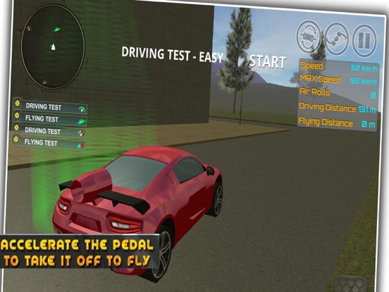 iPad Image of Ultimate Flying Car Adventures