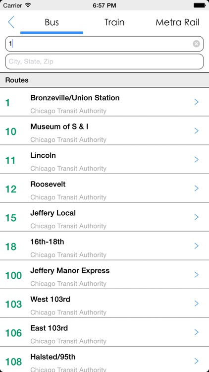Transit Tracker - Chicago screenshot-4
