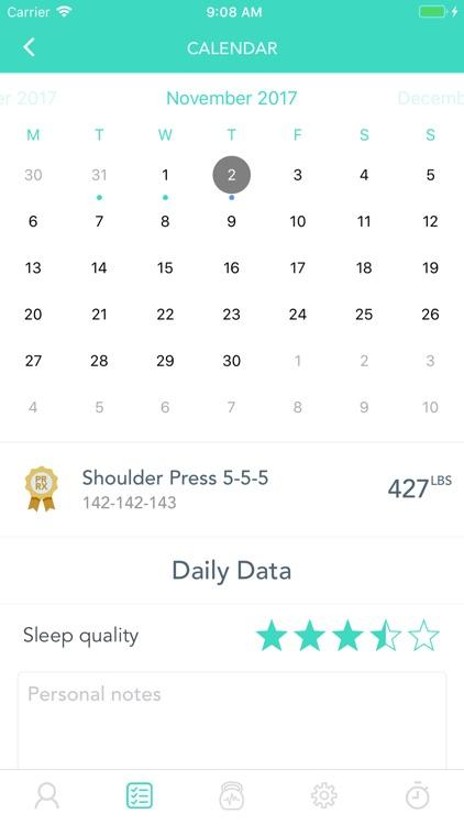 WodLog - optimize your Wod screenshot-6