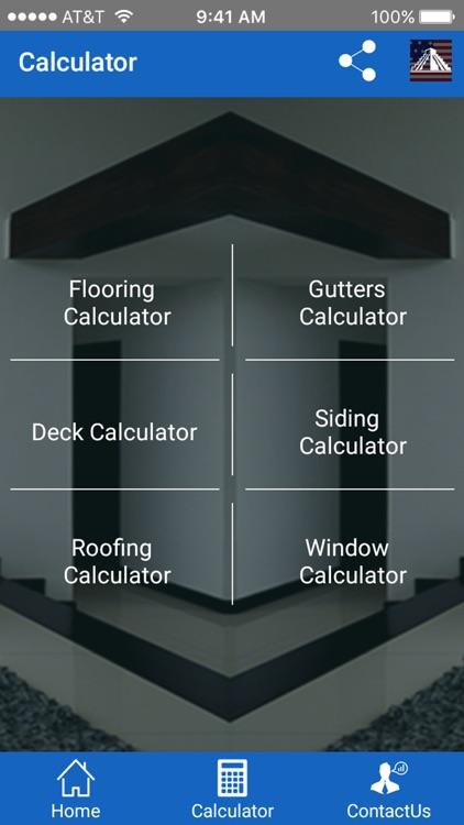 Siding Estimation Calculator