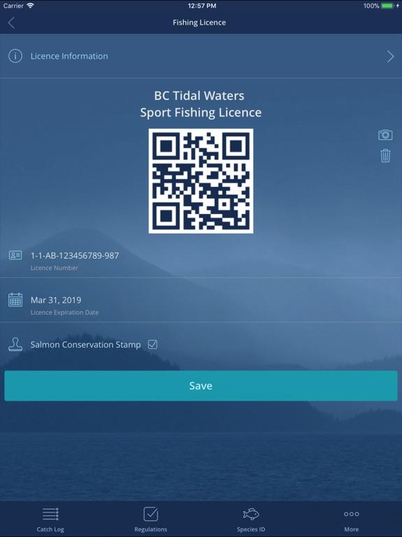 iPad Image of FishingBC