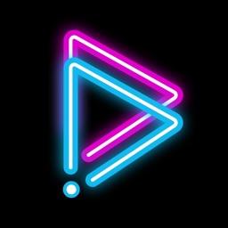 GoCut  - Glowing Video Maker