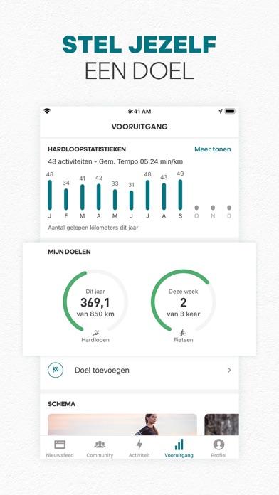 adidas Running by Runtastic iPhone app afbeelding 10