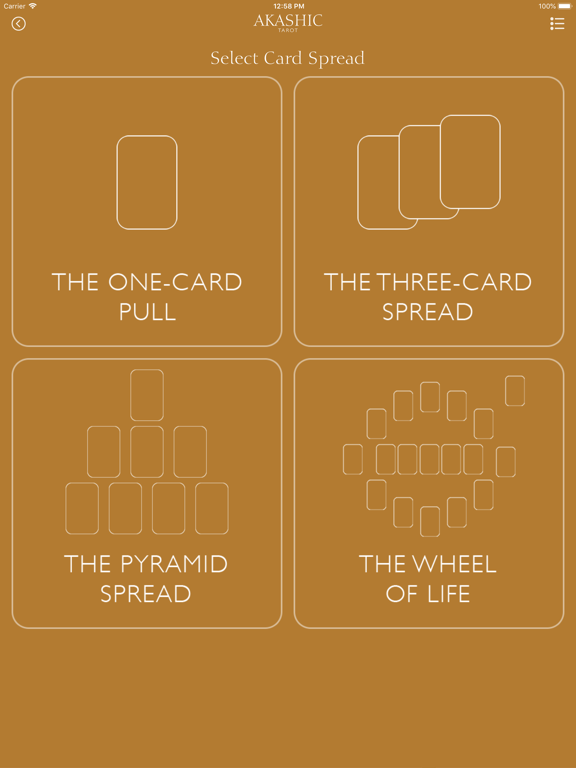 Akashic Tarot screenshot 7