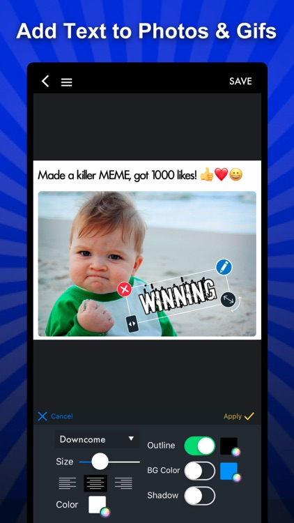 MEME Maker MEME Creator Pro screenshot-1