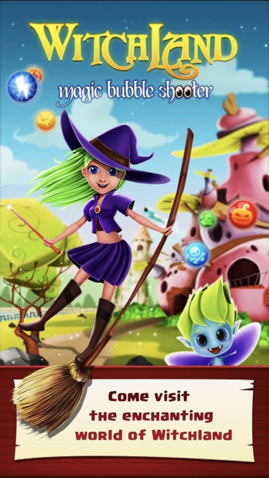 Screenshot 1 WitchLand-Magic Bubble Shooter